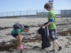 Service Learning in John U Lloyd Beach State Recreation Area