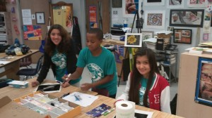 New River Middile School students helping to protect billfish using science and art. STEM + Art spells STEAM.